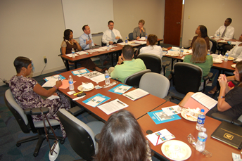 July 2010 — CIGNA Hosts Gulf Coast Diversity Council's Quarterly Lunch and Learn with Executives