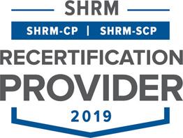 2018 SHRM-CP Recertification Provider Texas Diversity Council