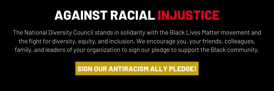 National Diversity Council Pledge Banner